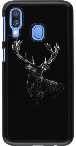 Coque Samsung Galaxy A40 - Abstract deer
