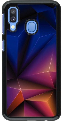 Coque Samsung Galaxy A40 - Abstract Triangles