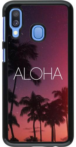 Coque Samsung Galaxy A40 - Aloha Sunset Palms