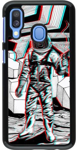 Coque Samsung Galaxy A40 - Anaglyph Astronaut