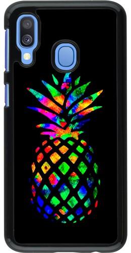 Coque Samsung Galaxy A40 - Ananas Multi-colors