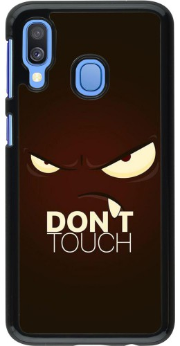 Coque Samsung Galaxy A40 - Angry Dont Touch