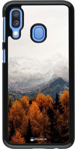 Coque Samsung Galaxy A40 - Autumn 21 Forest Mountain