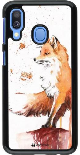 Coque Samsung Galaxy A40 - Autumn 21 Fox