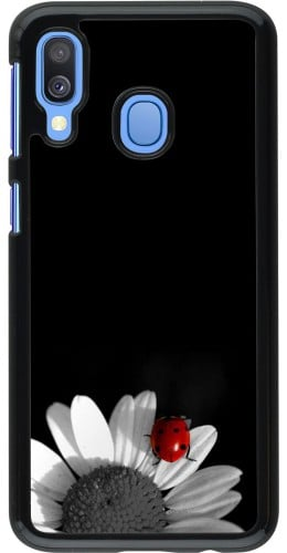 Coque Samsung Galaxy A40 - Black and white Cox