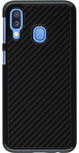 Coque Samsung Galaxy A40 - Carbon Basic