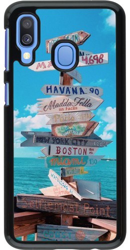 Coque Samsung Galaxy A40 - Cool Cities Directions