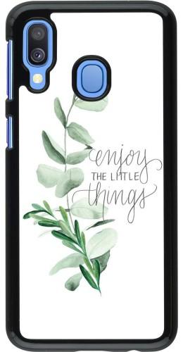Coque Samsung Galaxy A40 - Enjoy the little things