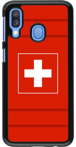 Coque Samsung Galaxy A40 - Euro 2020 Switzerland