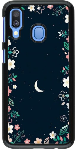 Coque Samsung Galaxy A40 - Flowers space
