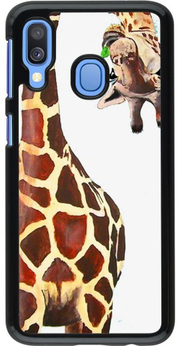 Coque Samsung Galaxy A40 - Giraffe Fit