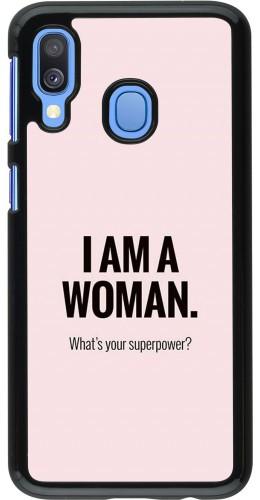 Coque Samsung Galaxy A40 - I am a woman