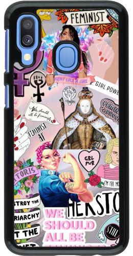 Coque Samsung Galaxy A40 - Girl Power Collage