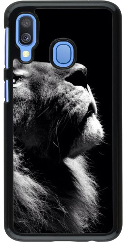 Coque Samsung Galaxy A40 - Lion looking up