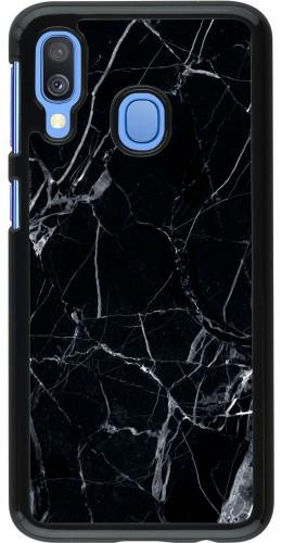 Coque Samsung Galaxy A40 - Marble Black 01