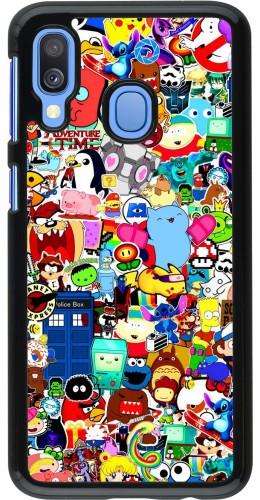 Coque Samsung Galaxy A40 - Mixed cartoons