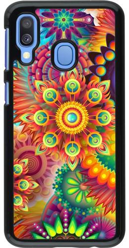 Coque Samsung Galaxy A40 - Multicolor aztec
