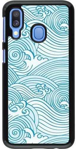 Coque Samsung Galaxy A40 - Ocean Waves