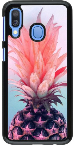 Coque Samsung Galaxy A40 - Purple Pink Pineapple