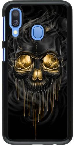 Coque Samsung Galaxy A40 - Skull 02