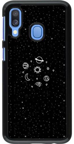 Coque Samsung Galaxy A40 - Space Doodle
