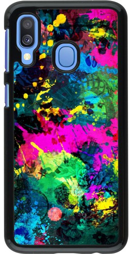 Coque Samsung Galaxy A40 - splash paint