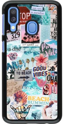 Coque Samsung Galaxy A40 - Summer 20 collage