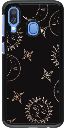Coque Samsung Galaxy A40 - Suns and Moons