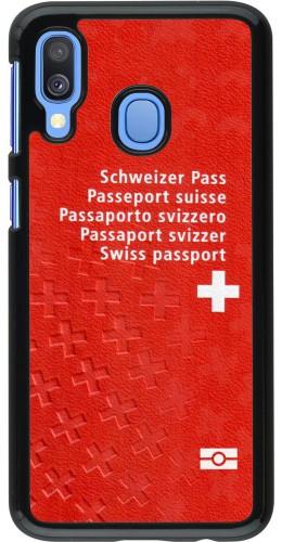 Coque Samsung Galaxy A40 - Swiss Passport