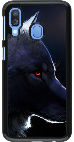 Coque Samsung Galaxy A40 - Wolf Shape