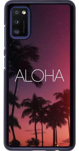 Coque Samsung Galaxy A41 - Aloha Sunset Palms