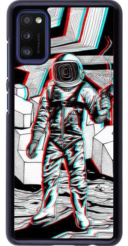 Coque Samsung Galaxy A41 - Anaglyph Astronaut