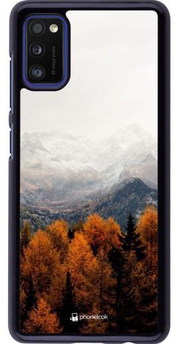Coque Samsung Galaxy A41 - Autumn 21 Forest Mountain