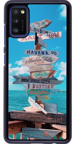 Coque Samsung Galaxy A41 - Cool Cities Directions