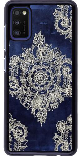 Coque Samsung Galaxy A41 - Cream Flower Moroccan