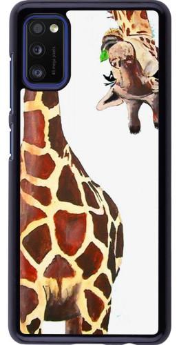 Coque Samsung Galaxy A41 - Giraffe Fit