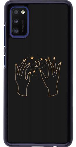 Coque Samsung Galaxy A41 - Grey magic hands