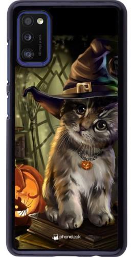 Coque Samsung Galaxy A41 - Halloween 21 Witch cat