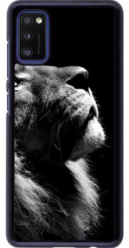 Coque Samsung Galaxy A41 - Lion looking up