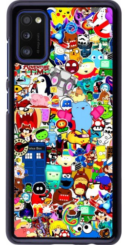 Coque Samsung Galaxy A41 - Mixed cartoons