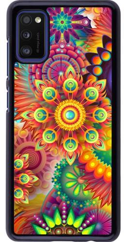 Coque Samsung Galaxy A41 - Multicolor aztec