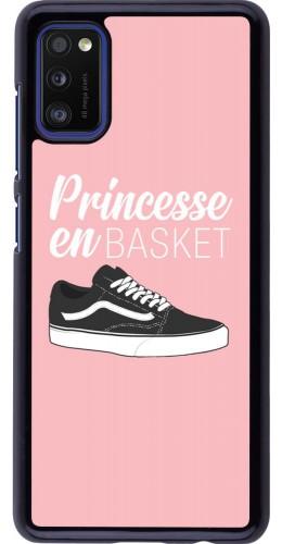 Coque Samsung Galaxy A41 - princesse en basket