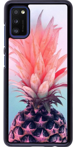 Coque Samsung Galaxy A41 - Purple Pink Pineapple