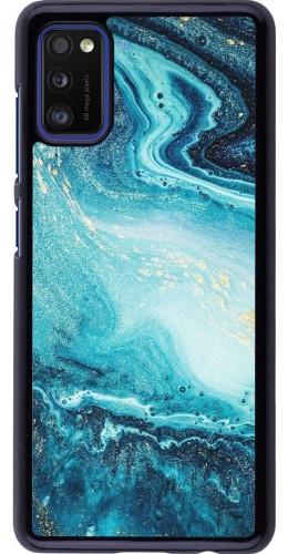 Coque Samsung Galaxy A41 - Sea Foam Blue