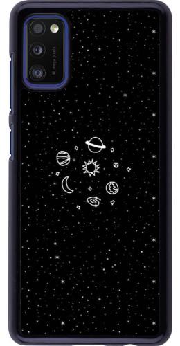 Coque Samsung Galaxy A41 - Space Doodle