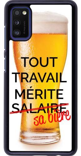 Coque Samsung Galaxy A41 - Tout travail mérite sa bière