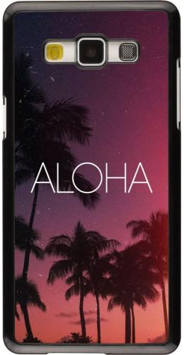 Coque Samsung Galaxy A5 (2015) - Aloha Sunset Palms