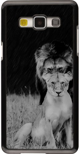 Coque Samsung Galaxy A5 (2015) - Angry lions
