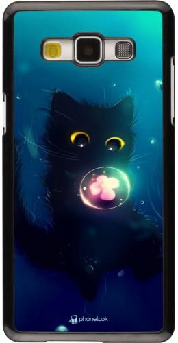 Coque Samsung Galaxy A5 (2015) - Cute Cat Bubble