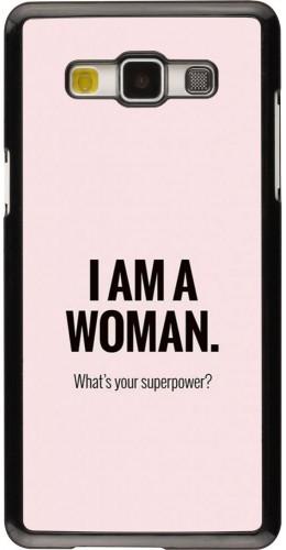 Coque Samsung Galaxy A5 (2015) - I am a woman